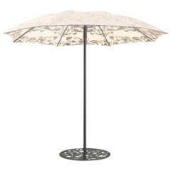 Geisha Motifs Terrace Parasol Designed by Marcel Wanders in Stock in Los Angeles