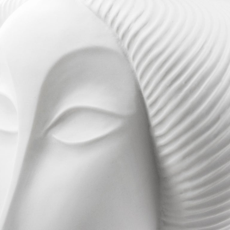 American Geisha Porcelain Bust For Sale