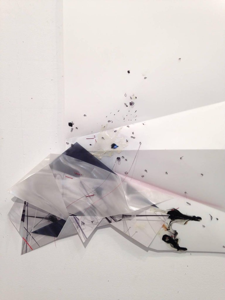 Gelah Penn, 'Serial Polyglot Y', 2014-15, Metal, Wire, Graphite, Digital Print  For Sale 6
