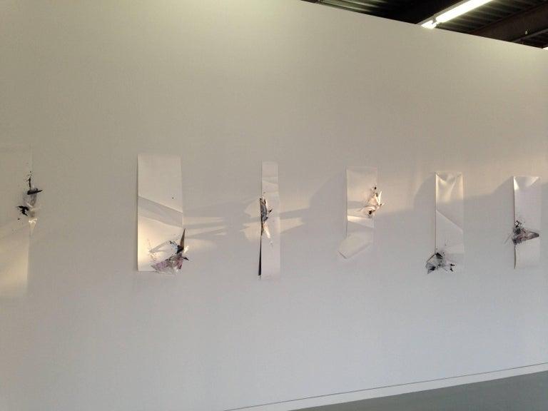 Gelah Penn, 'Serial Polyglot Y', 2014-15, Metal, Wire, Graphite, Digital Print  - Abstract Sculpture by Gelah Penn