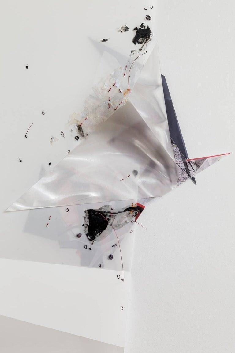 Gelah Penn, 'Serial Polyglot Y', 2014-15, Metal, Wire, Graphite, Digital Print  For Sale 3