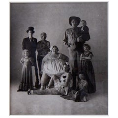 Gelatin Silver Photograph titled 'Circus People' by Irving Penn, 1947