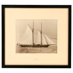 Gelatine Print of the Yacht Foam by Beken and Sons
