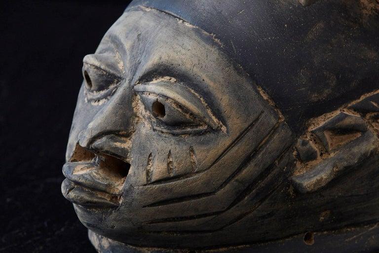 Gelede Headdress, Yoruba People, Nigeria, circa 1920s For Sale 8