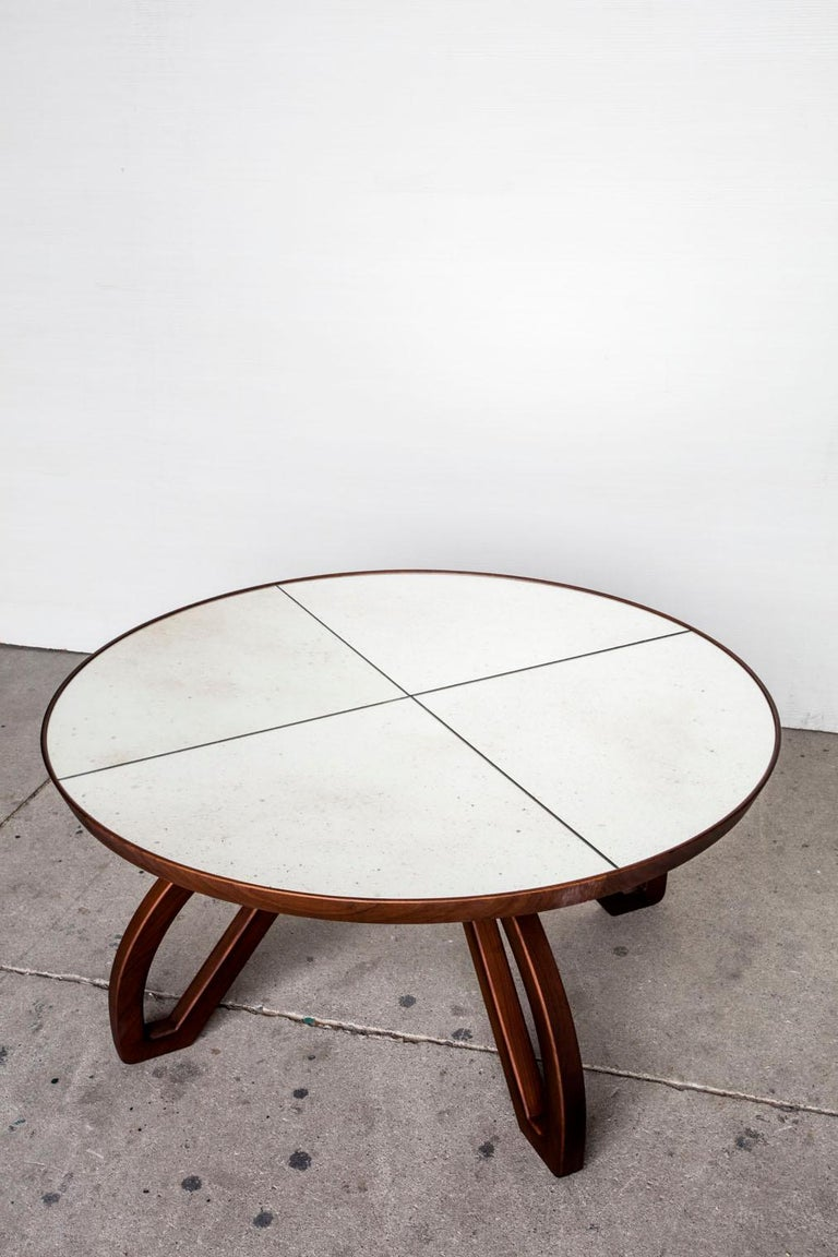 Mid-Century Modern Gelsomino sofa table  For Sale