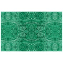 Gem Wallpaper in Malachite by Gray Flores Design x Greenpoint Hill