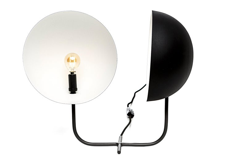 Gemelli table lamp is a product designed by the award wining designer Gustavo Martini. It features two rotational domes allowing the direction of the light, for direct or indirect lighting, as the user desires, providing sensations to daily life,