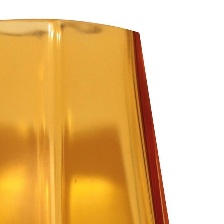 Modern 21st Century Alessandro Mendini Murano Transparent Glass Vase Various Colors For Sale