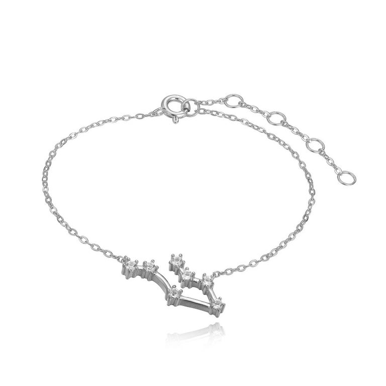 Modern Gemini Constellation Bracelet For Sale