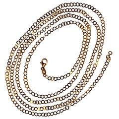 Gemjunky 14 Karat Yellow Gold Sparkling Chain