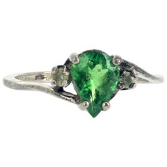 "Gemjunky ""Congratulation Collection"" 1.2 Carat Columbian Emerald & Diamond Ring"