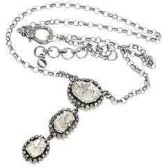Gemjunky Diamond Rock Dangle Glittery Pendant