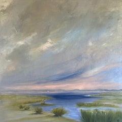 Gemma Bedford, Solo Sail West Wittering, Landscape Art, Affordable Art