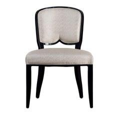 Gemma Black and White Chair