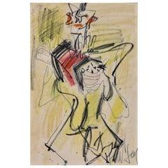 GEN PAUL Drawing-Watercolor, Gouache/Paper Signed GEN PAUL