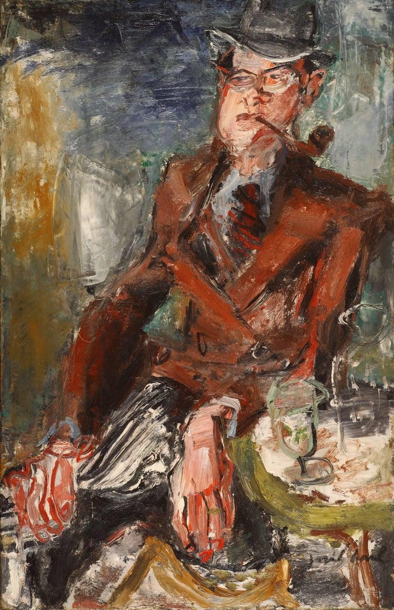 GEN PAUL Figurative Painting - Portrait of Ernest Lajeunesse