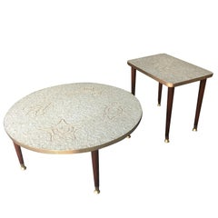 Genaro Alvarez Coffee and Side Tables