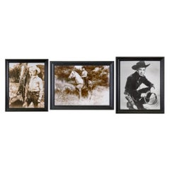Gene Autry, Eddie Dean and Lash Larue SignedStudio Photographs