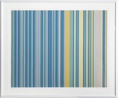 Davy's Locker, Minimalist Stripe Screenprint by Gene Davis