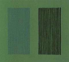 Green Giant, Minimalist Print by Gene Davis