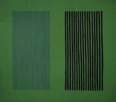 Green Giant,1980 Limited Edition Lithograph, Gene Davis