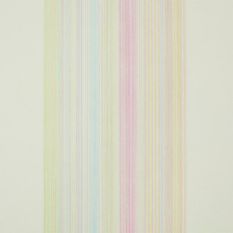 Witch Doctor: abstract modern minimalist color field drawing with rainbow colors - Print by Gene Davis