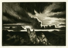 Riders at Sundown
