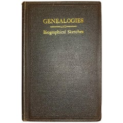 Genealogies and Sketches of Some Old Families of VA and KY by BF Van Meter 1901