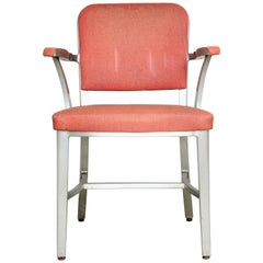 General Fireproofing Company Good Form Industrial Aluminum Armchair