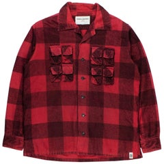 General Research 1998 Parasite Flannel Cargo Shirt
