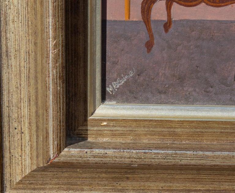 North American General Toussaint Louverture by Hattian Artist Serge Moleon Blaise For Sale