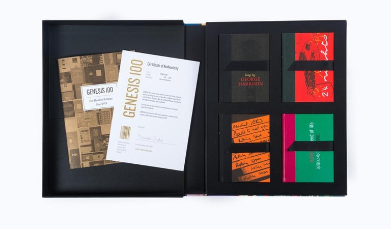 British Genesis 100 – Set of Four Pocket-Sized Limited Edition Books For Sale