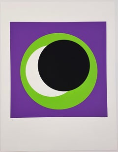 Black and Green Circle (Cercle noir/vert)