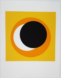 Black and Orange Circle (Cercle noir et orange)