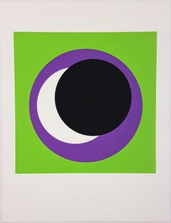 Black and Purple Circle (Cercle noir/lilas)