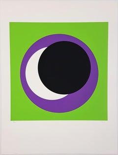 Black and Purple Circle (Cercle noir/lilas)