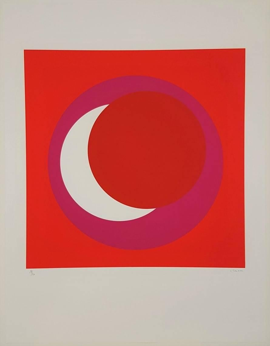 Red and Pink Circle (Cercle rouge/rose)