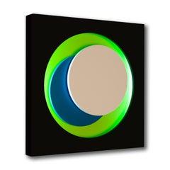 Cercle Noir et Vert