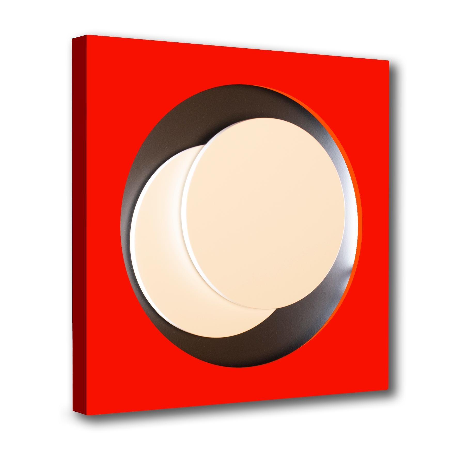 Cercle Rouge et Noir