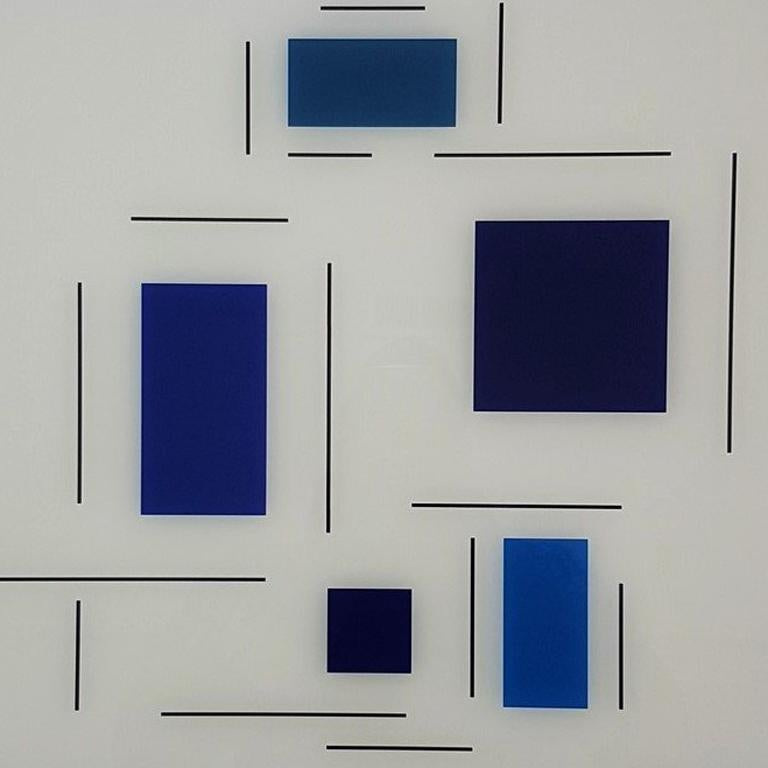 Untitled (Blue) For Sale 1
