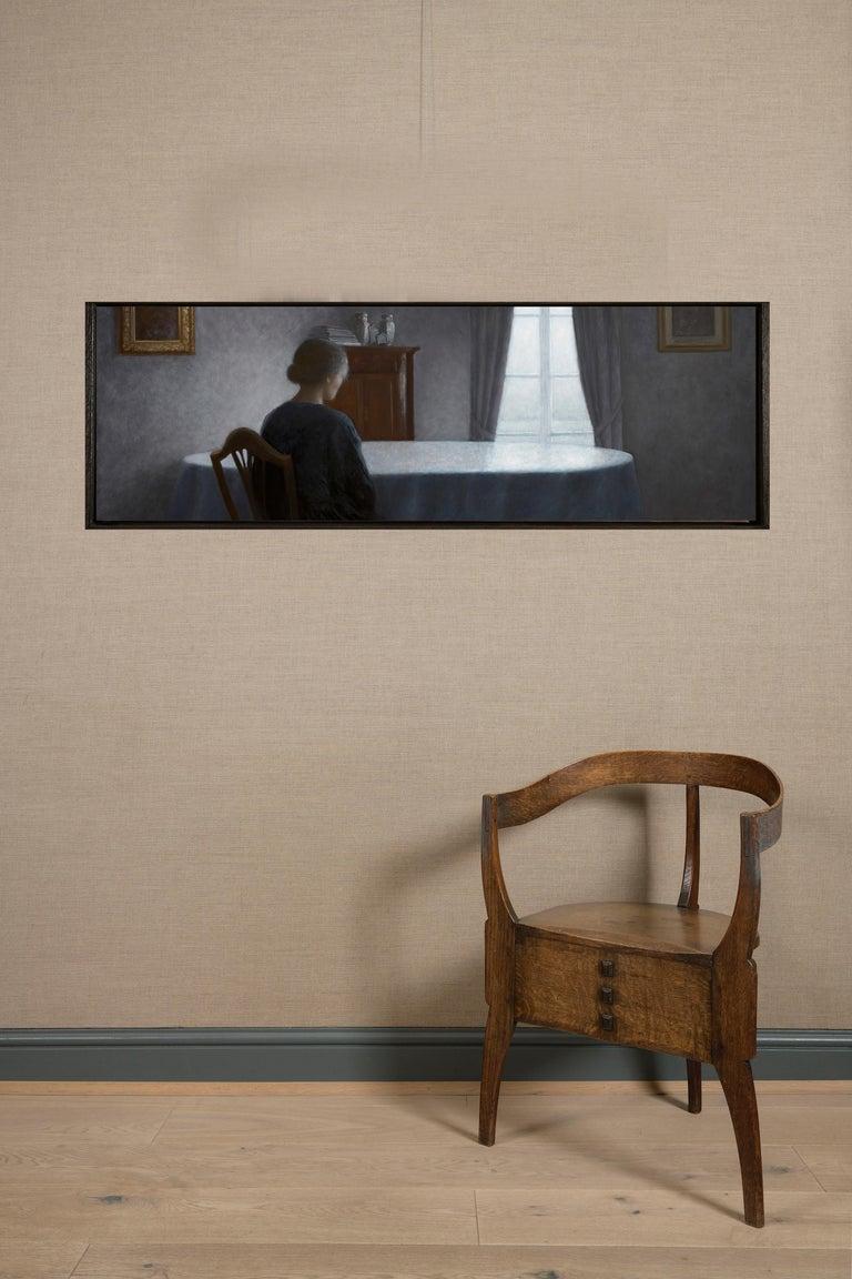 La Douceur du silence - Painting by Geneviève Daël