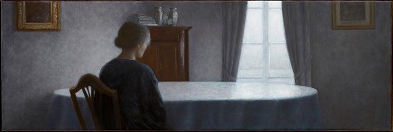 Geneviève Daël Figurative Painting - La Douceur du silence