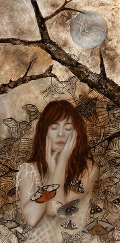 """Ephemeral One"" Oil Painting"