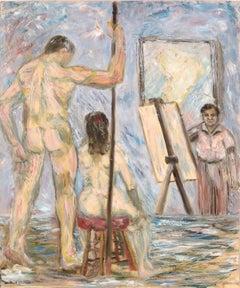 Figure Painting in the Studio