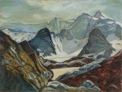 High Sierra Mountains Landscape