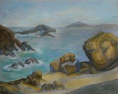 Seaside View, American Impressionist