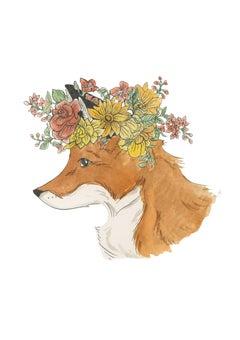 Flower Fox