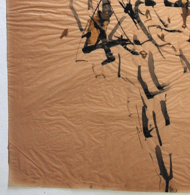 Paper Genichiro Inokuma 'Japanese 1902-1993' Original Ink Drawing For Sale