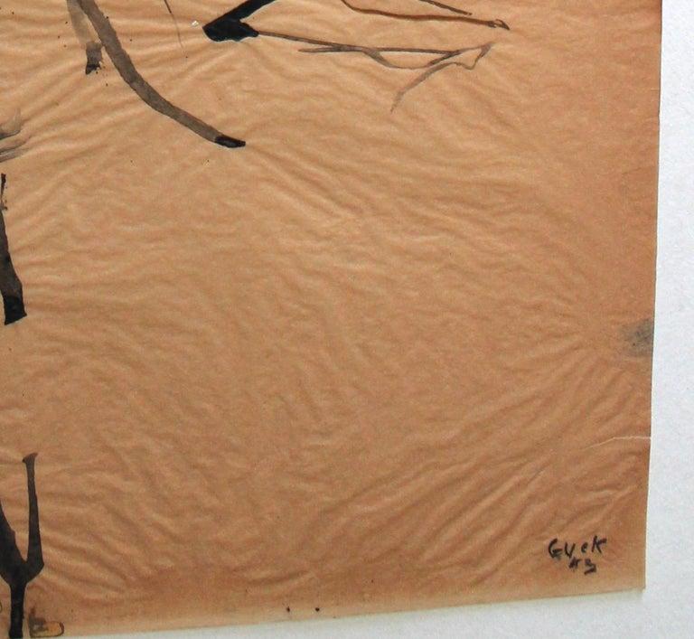 Genichiro Inokuma 'Japanese 1902-1993' Original Ink Drawing For Sale 1