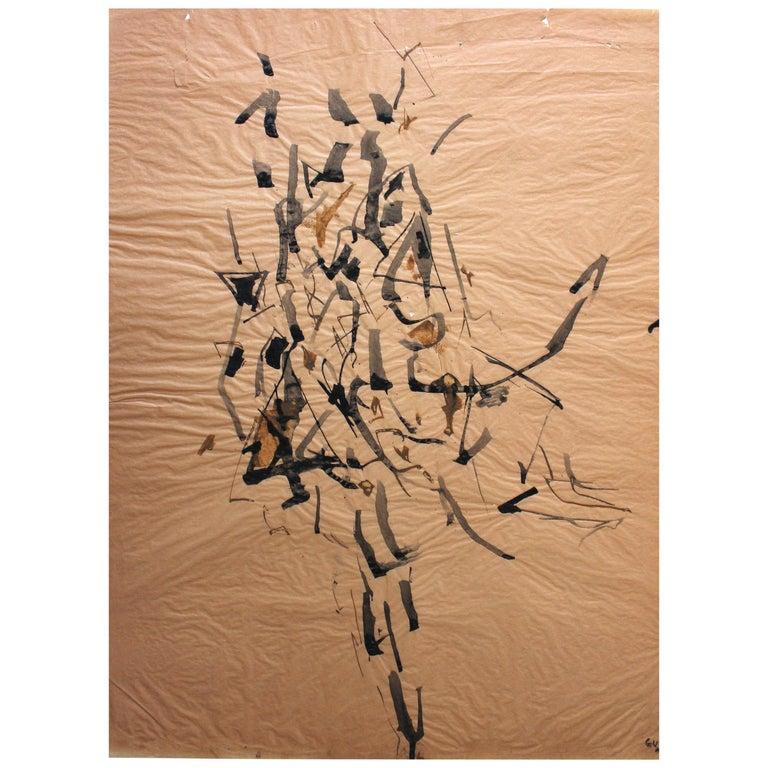 Genichiro Inokuma 'Japanese 1902-1993' Original Ink Drawing For Sale